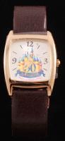 Vintage Disneyland Leather Strap Watch at PristineAuction.com