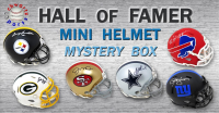 Schwartz Sports Football Hall of Famer Signed Mini Helmet Mystery Box – Series 9 (Limited to 100) at PristineAuction.com