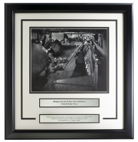 """USS Yorktown Hangar Deck"" 17x18 Custom Framed World War II Photo Display at PristineAuction.com"
