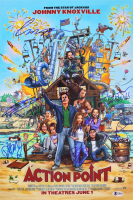 """""""Action Point"""" 12x18 Photo Cast-Signed by (9) with Johnny Knoxville, Chris Pontius, Brigette Lundy-Paine, Dan Bakkedahl (Beckett LOA) at PristineAuction.com"""
