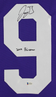 "Joe Burrow Signed 32x37 Custom Framed Jersey Inscribed ""2019 Heisman"" (Beckett COA) at PristineAuction.com"