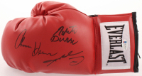 Roberto Duran, Thomas Hearns & Sugar Ray Leonard Signed Everlast Boxing Glove (Beckett COA) at PristineAuction.com