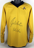 "William Shatner Signed ""Star Trek"" Uniform Shirt Inscribed ""Kirk"" (Beckett COA) at PristineAuction.com"