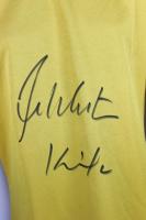 "William Shatner Signed ""Star Trek"" Uniform Shirt Inscribed ""Kirk"" (Beckett COA) at PristineAuction.com"