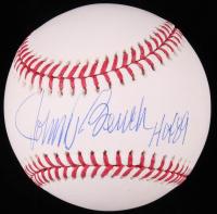 "Johnny Bench Signed OML Baseball Inscribed ""HOF 89"" (JSA COA) at PristineAuction.com"