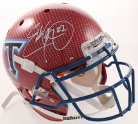 Eddie George Signed Titans Full-Size Authentic On-Field Hydro-Dipped Helmet (Beckett COA) at PristineAuction.com