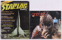 Lot of (2) SciFi Magazines With 1977 Starlog & 1992 Cinefex at PristineAuction.com