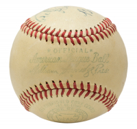 "Babe Ruth Signed OAL Baseball Inscribed ""From"" (PSA LOA) at PristineAuction.com"