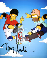 "Tony Hawk Signed ""The Simpsons"" 8x10 Photo (Beckett COA) at PristineAuction.com"