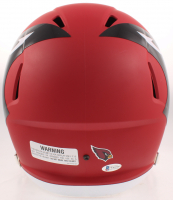 """Kenyan Drake Signed Cardinals Full-Size AMP Alternate Speed Helmet Inscribed """"Rise Up Red Sea"""" (Beckett COA) at PristineAuction.com"""