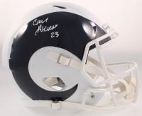 Cam Akers Signed Rams Full-Size AMP Alternate Speed Helmet (Beckett COA) at PristineAuction.com
