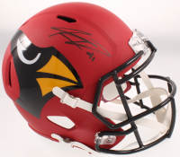 Kenyan Drake Signed Cardinals Full-Size AMP Alternate Speed Helmet (Beckett COA) at PristineAuction.com