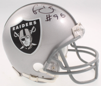 Clelin Ferrell Signed Raiders Mini Helmet (Beckett COA) at PristineAuction.com