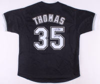"Frank Thomas Signed Jersey Inscribed ""HOF 2014"" (JSA COA) at PristineAuction.com"