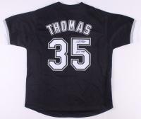 "Frank Thomas Signed Jersey Inscribed ""HOF 2014"" (JSA COA) at PristineAuction.com"