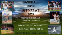 OKAUTHENTICS Baseball 8x10 Mystery Box Series II at PristineAuction.com