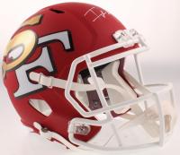 Frank Gore Signed 49ers AMP Alternate Full-Size Speed Helmet (JSA COA) at PristineAuction.com