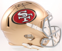 Frank Gore Signed 49ers Full-Size Speed Helmet (JSA COA) at PristineAuction.com