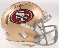 Frank Gore Signed 49ers Speed Mini Helmet (JSA COA) at PristineAuction.com