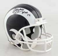 "Aeneas Williams Signed Rams Mini Helmet Inscribed ""HOF 14"" (Beckett COA) at PristineAuction.com"