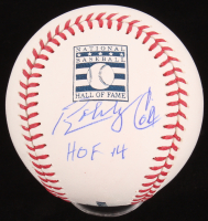 "Bobby Cox Signed OML Hall Of Fame Baseball Inscribed ""HOF 14"" (JSA COA) at PristineAuction.com"