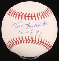 "Tommy Lasorda Signed OML Baseball Inscribed ""HOF 97"" (PSA COA) at PristineAuction.com"
