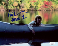 "Ari Lehman Signed ""Friday the 13th"" 8x10 Photo Inscribed ""Jason 1"" (JSA COA) at PristineAuction.com"