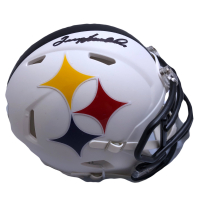 Terry Bradshaw Signed Steelers AMP Alternate Speed Mini Helmet (Beckett COA & Bradshaw Hologram) at PristineAuction.com