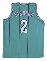 Larry Johnson Signed Jersey (Beckett COA) at PristineAuction.com