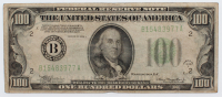 1934-A U.S. $100 One Hundred Dollar Green Seal Federal Reserve Note at PristineAuction.com