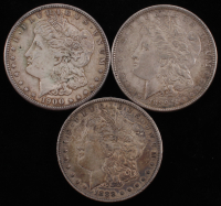 Lot of (3) Morgan Silver Dollars with 1889, 1888-O, & 1900 at PristineAuction.com