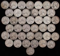 Lot of (40) 1942-64 Washington Silver Quarters at PristineAuction.com