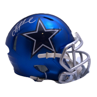 Troy Aikman Signed Cowboys Blaze Speed Mini Helmet (Beckett COA & Aikman Hologram) at PristineAuction.com
