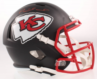 Patrick Mahomes Signed Chiefs Full-Size Matte Black Speed Helmet (JSA COA) at PristineAuction.com