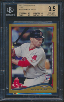 Mookie Betts 2014 Topps Update Gold #US26 RC (BGS 9.5) at PristineAuction.com