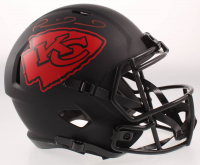 Patrick Mahomes Signed Kansas City Chiefs Full-Size Matte Black Speed Helmet (JSA COA) at PristineAuction.com