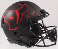 Deshaun Watson Signed Texans Full-Size Eclipse Alternate Speed Helmet (Beckett COA) at PristineAuction.com