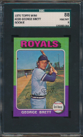 George Brett 1975 Topps Mini #228 RC (SGC 8) at PristineAuction.com