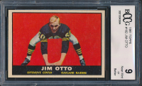 Jim Otto 1961 Topps #182 RC (BCCG 9) at PristineAuction.com