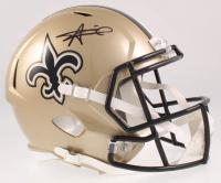 Alvin Kamara Signed Saints Full-Size Speed Helmet (JSA COA) at PristineAuction.com