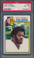 Earl Campbell 1979 Topps #390 RC (PSA 8) at PristineAuction.com