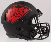 "Mecole Hardman Signed Chiefs Full-Size Eclipse Alternate Speed Helmet Inscribed ""SB LIV Champs"" (Beckett COA) at PristineAuction.com"