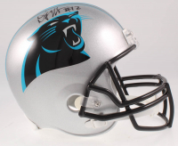 D. J. Moore Signed Panthers Full-Size Speed Helmet (Beckett COA) at PristineAuction.com