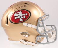 Kwon Alexander Signed 49ers Full-Size Speed Helmet (JSA COA) at PristineAuction.com