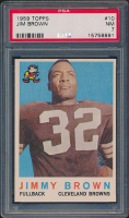Jim Brown 1959 Topps #10 (PSA 7) at PristineAuction.com