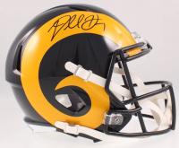 Darrell Henderson Jr. Signed Rams Speed Full Size Helmet (Beckett COA) at PristineAuction.com