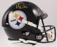 Mason Rudolph Signed Steelers Full-Size Speed Helmet (JSA COA) at PristineAuction.com