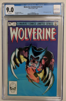 "1982 ""Wolverine"" Issue #2 Marvel Comic Book (CGC 9.0) at PristineAuction.com"