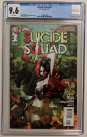 "2011 ""Suicide Squad"" Vol. 3 Issue #1 DC Comic Book (CGC 9.6) at PristineAuction.com"