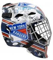 Mike Richter Signed Rangers Full-Size Goalie Mask (JSA COA) at PristineAuction.com